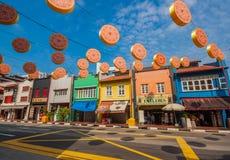 Cudowna architektura Singapur obraz stock