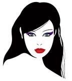 cudowna dziewczyna royalty ilustracja