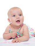 cudowna dziewczynka szczęśliwa obrazy royalty free