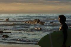 Cudowna i osobliwa plaża Barrika Zdjęcia Stock