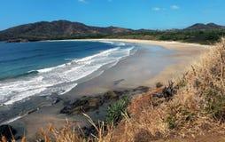 Cudowna plaża Fotografia Royalty Free