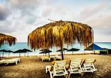 Cudowna plaża w Turcja zdjęcia stock