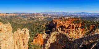 Cudowna rockowa formacja bryce jar hoodoos park narodowy Zdjęcia Royalty Free