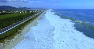 Cudowne plaże dookoła świata Jaconé plaża, Rio De Janeiro, Brazylia zbiory wideo