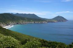 cudowne wybrzeże Obrazy Royalty Free