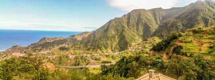 Cudowni krajobrazy Od madery Zdjęcie Royalty Free