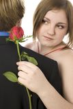 cudownie tańczyć pary nastolatków. obrazy stock