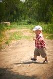 cudowny chłopiec paker Zdjęcia Royalty Free