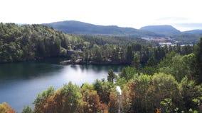 Cudowny fjord Obraz Royalty Free