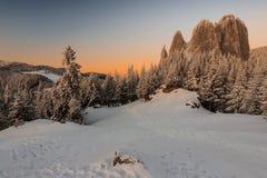 Cudowny góra krajobraz Obraz Royalty Free