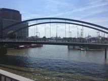Cudowny Hamburgs most II zdjęcia stock