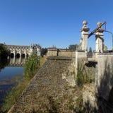 Cudowny krajobraz Francja zdjęcie royalty free