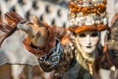 Karnawał maska w Wenecja Fotografia Royalty Free