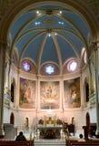 Cudowny medal świątyni sanktuarium w Filadelfia Obraz Stock