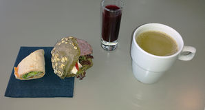 Cudowny śniadanie Fotografia Stock
