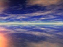 cudowny niebo Zdjęcie Royalty Free
