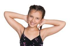 cudowny portret dziewczyny obraz stock