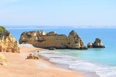 Cudowny skalisty Algarve zdjęcia stock