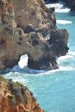 Cudowny skalisty Algarve obraz royalty free