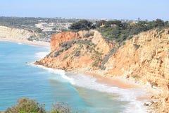 Cudowny skalisty Algarve zdjęcie royalty free