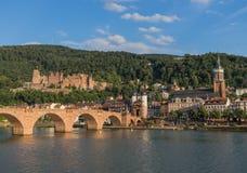 Cudowny Stary miasteczko Heidelberg zdjęcie royalty free