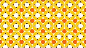 Cudowny tło dla grupy przeplatający, gradient okręgi w kolorach między i, pomarańcze, złoto i abstra, ilustracja wektor