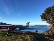 Cudowny widok i jezioro na twój wakacje obrazy royalty free