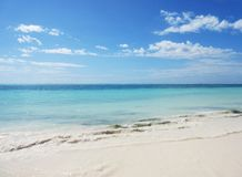 Cudowny widok na ocean w Zanzibar obraz royalty free