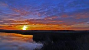 cudowny wschód słońca Obrazy Royalty Free