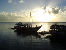 cudowny wschód słońca Zdjęcie Stock