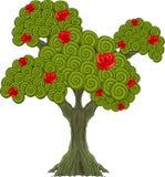 Cudu drzewo ilustracja wektor