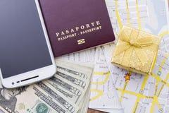 Cudzoziemski paszport zdjęcia stock