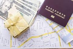 Cudzoziemski paszport obrazy royalty free