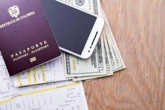 Cudzoziemski paszport Obraz Royalty Free