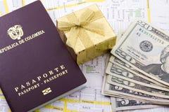 Cudzoziemski paszport obrazy stock