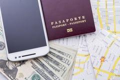 Cudzoziemski paszport fotografia stock