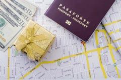 Cudzoziemski paszport zdjęcie royalty free