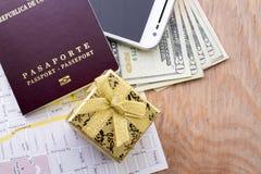 Cudzoziemski paszport fotografia royalty free