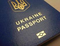 Cudzoziemski paszport mieszkaniec Ukraina, obrazy royalty free