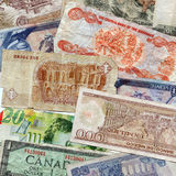 Cudzoziemski pieniądze zdjęcia stock