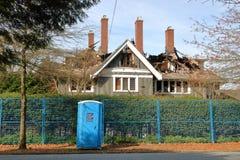 Cudzoziemski właściciel Musi Załatwiać Vancouver dom obraz stock