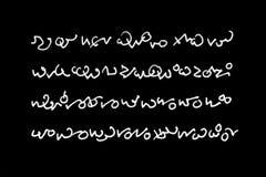 cudzoziemski writing zdjęcie royalty free