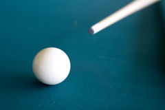 Cue Ball 1 Royalty Free Stock Images