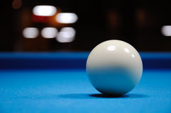 Cue Ball Royalty Free Stock Photos