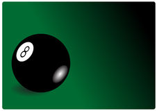 Cue ball Stock Photo