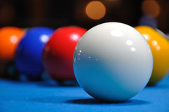 Cue Ball II Stock Image
