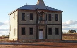 Masonic Lodge, built in the 1920`s and restored over the years. royalty free stock image