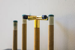 Cue stick hang on wall . Stock Photography