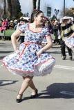 Cueca Chilena, danse traditionnelle Photographie stock