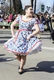 Cueca Chilena, danse traditionnelle Photo libre de droits